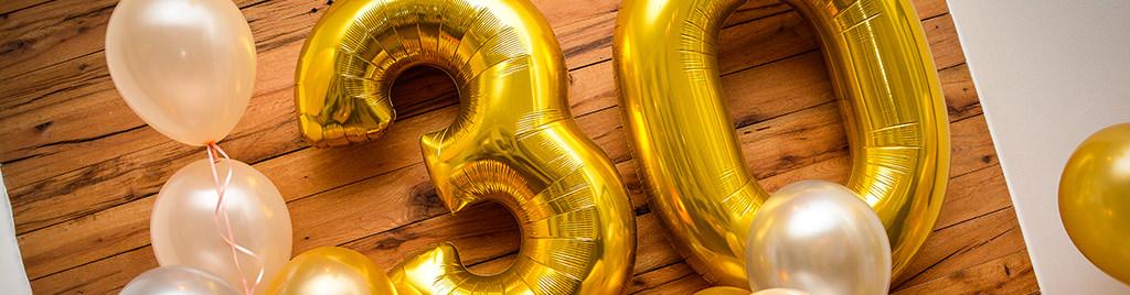 30-års fødselsdag? Sådan holder du et brag af en fest