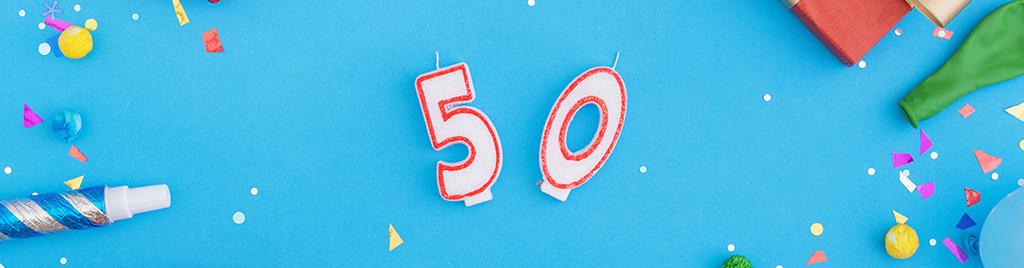Den bedste 50 års fødselsdag