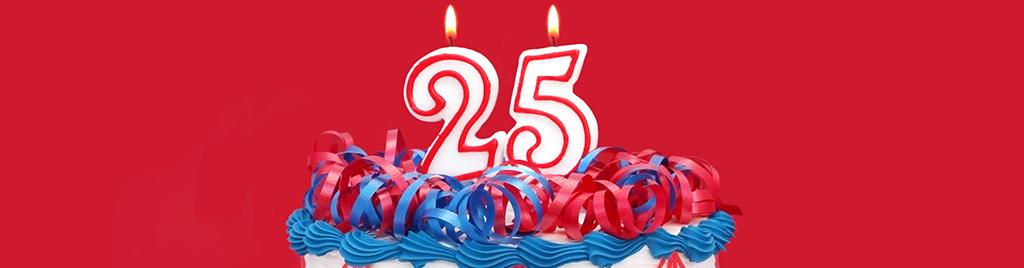 Guide: Sådan planlægger du et brag af en 25-års fødselsdag