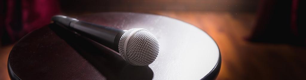 Billig stand-up komiker